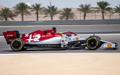 Dalla Ferrari all'Alfa: Schumi, Day-2 test. FOTO