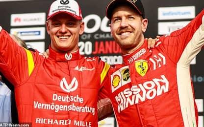 Test, Ferrari macchina da battere. Ok Schumi jr