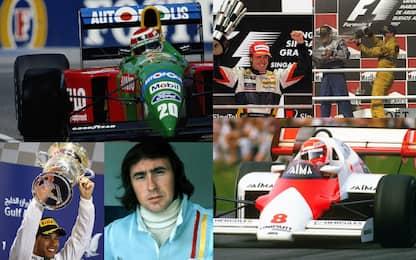 F1, GP a tre zeri: un affare da campioni del mondo