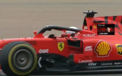 Ferrari, ordini e gerarchie: team radio Leclerc