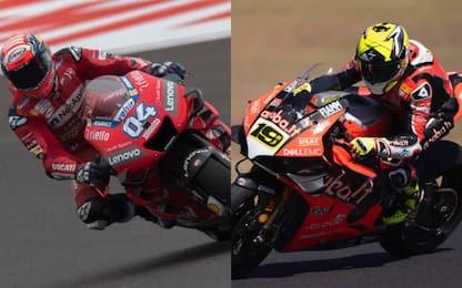 Dalla MotoGP alla SBK: tutta la forza della Ducati