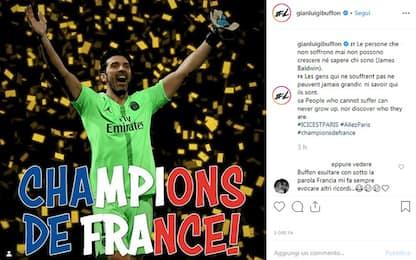 """Buffon, la sua Ligue1: """"Chi non soffre non cresce"""""""