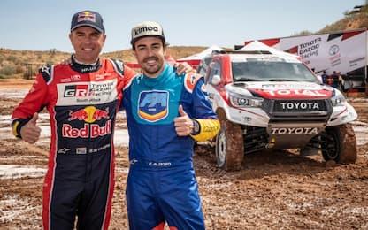 Alonso alla Dakar 2020? Spagnolo prova vettura