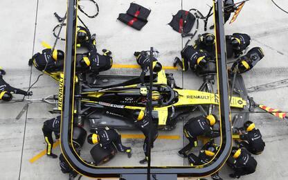 Renault, salvo il motore di Hulkenberg per Baku