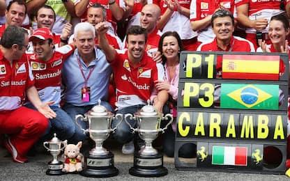 Ferrari a Barcellona: l'ultima vittoria con Alonso