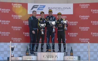F2, Latifi vince gara-1. Ghiotto 4°, Schumi Jr 15°