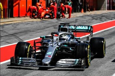 Test F1, a Bottas il Day-1. Leclerc secondo