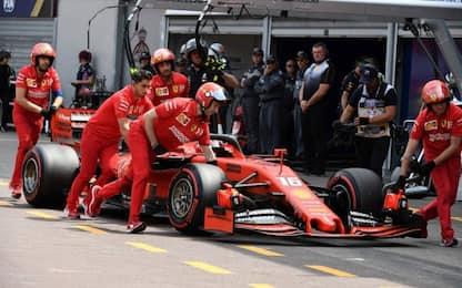 Montecarlo, la Ferrari deve rischiare
