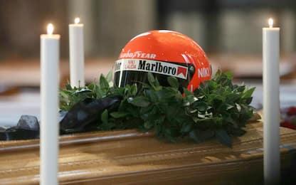 L'ultimo saluto a Lauda nel Duomo di Vienna. FOTO