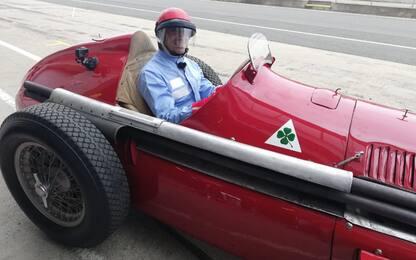 Silverstone, Marc Genè guida l'Alfa 158. VIDEO