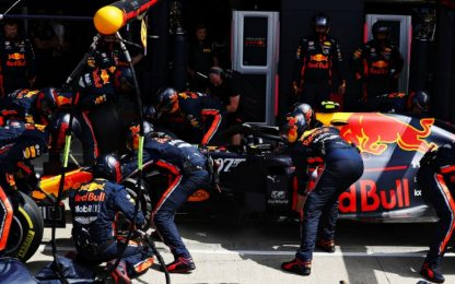 Red Bull, pit stop flash in 1''91: è record. VIDEO