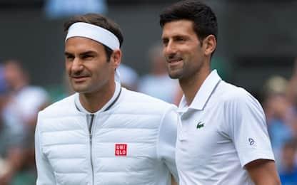 Evade dai domiciliari per vedere Djokovic-Federer