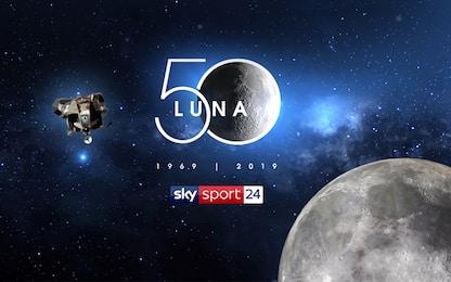 50 anni fa sbarco sulla Luna: il programma su Sky