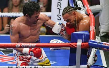 Pacquiao da record, titolo WBA welter a 40 anni
