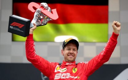"Turrini: ""Vettel, 2° posto che vale una vittoria"""