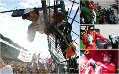 Hamilton da urlo, la Ferrari fatica: highlights