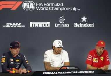 GP Budapest, siparietto con frecciatine ad Alonso
