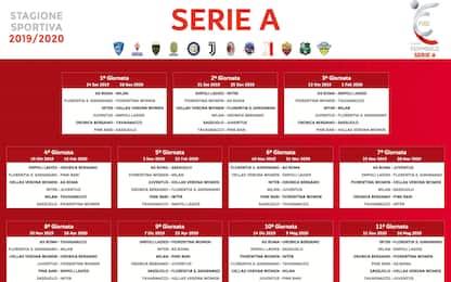Serie A femminile: tutto il calendario 2019-2020