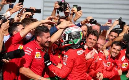 """Malagò: """"Leclerc, la stoffa del campione"""""""