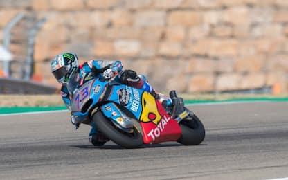 Moto2, ad Aragon la pole vale oro