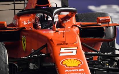 Ferrari perfetta, un weekend da campioni