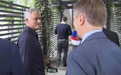 """Mourinho: """"Io al Real? No, la panchina è a casa"""""""