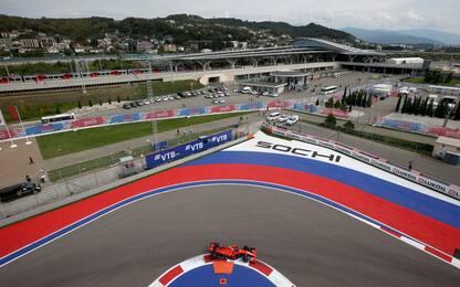 La F1 in Russia: gli orari e tutto il programma