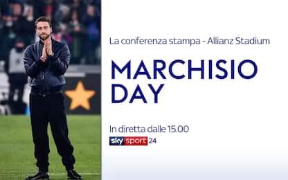 Marchisio Day: alle 15 conferenza sul suo futuro