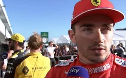 """Leclerc deluso: """"Il team meritava di più"""""""