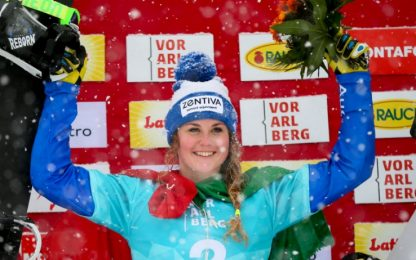 Snowboard, Moioli vince la prova di Montafon