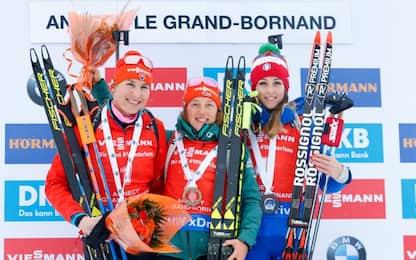 Biathlon, Vittozzi fa festa ad Annecy: terza!