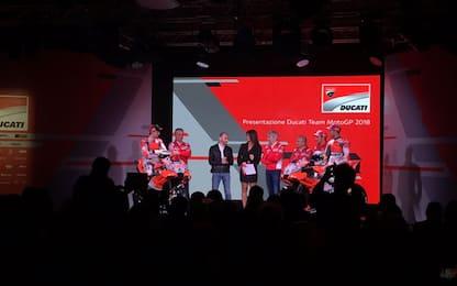 Ecco la Ducati 2018: bianca, rossa e... grigia!