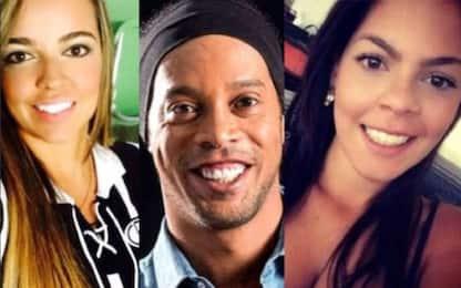 Ronaldinho, altra doppietta: sposa...due donne