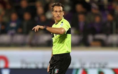 Lazio-Atalanta, sarà Banti l'arbitro della finale