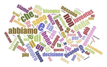 Allegri-Agnelli, le parole chiave della conferenza