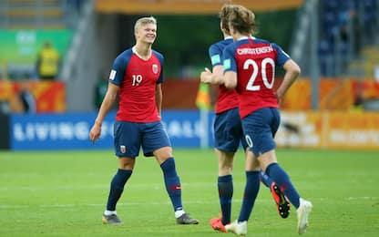 Under20, 12-0 della Norvegia. Tutti i risultati