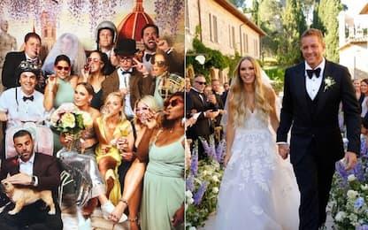 Wozniacki-Lee: matrimonio da sogno in Italia. FOTO