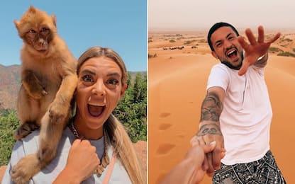 """Sensi e Giulia, vacanza """"pazza"""": da Inter! FOTO"""