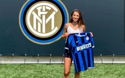 """Goldoni, la nuova """"bomber"""" dell'Inter Women. FOTO"""