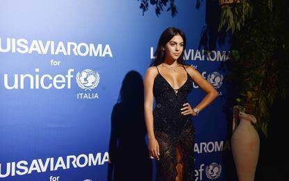 Gala dell'Unicef: Georgina Rodriguez incanta. FOTO