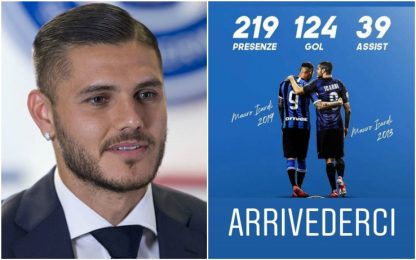 Icardi saluta l'Inter, ma il suo non è un addio...