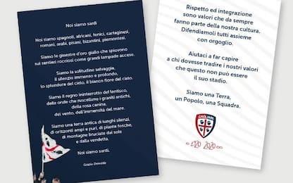 Cagliari-Genoa, una poesia contro il razzismo