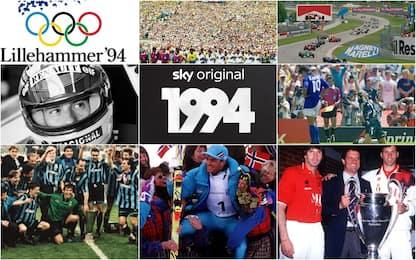 """""""1994"""" su Sky. Gli eventi sportivi di quell'anno"""