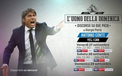 """Conte Uomo della Domenica: """"Leadership dominante"""""""