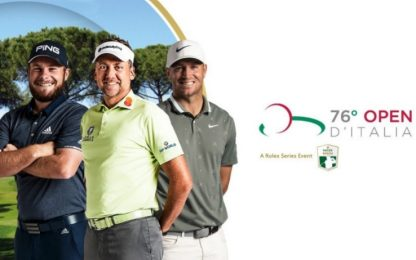 Golf, 76° Open d'Italia: calendario e dove vederlo