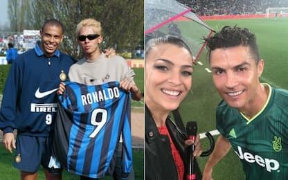 Inter-Juve, i tifosi vip del derby d'Italia. FOTO