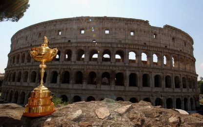 Ryder Cup 2022 a Roma, in campo dal 30 settembre