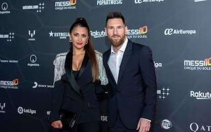 """Leo e Antonella al debutto di """"Messi 10"""". FOTO"""