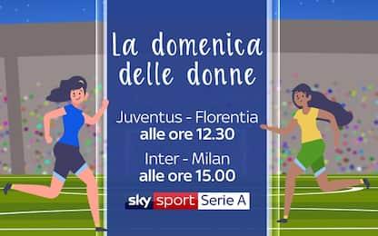 Juve e Inter-Milan: domenica al femminile su Sky