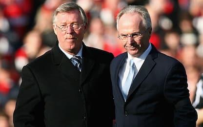 """Quando Ferguson disse a Eriksson: """"Ti ammazzo"""""""